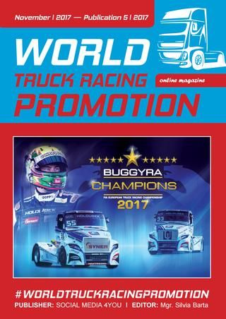 WORLD TRUCK RACING PROMOTION - November 2017  WORLD TRUCK RACING PROMOTION