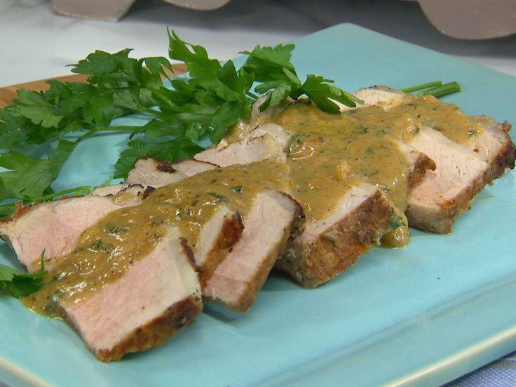 Sunny's Coconut Milk Braised Pork Loin recipe from Sunny Anderson via Food Network