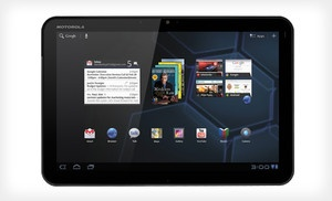 Groupon - $259 for a 10'' Motorola HD Xoom Tablet with Portfolio (Manufacturer Refurbished) ($599.99 List Price). Free Shipping. in Online Deal. Groupon deal price: $259.00