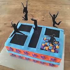 Image result for trampoline cake