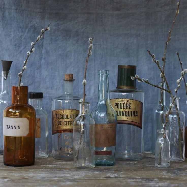 Picture of Vintage Pharmacy Jars