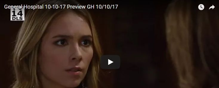 WATCH: General Hospital (GH) Preview Tuesday October 10