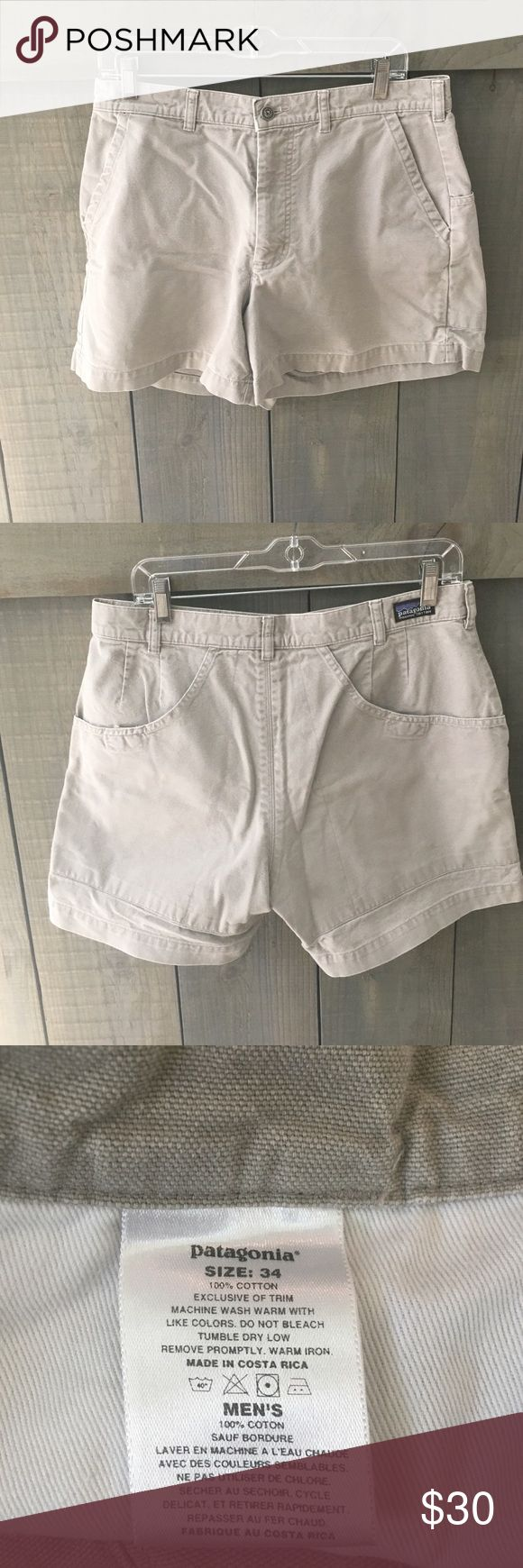 """Men's. Patagonia. Stand Up Shorts. Size 34. 5"""". Great condition. Men's Stand Up Shorts. Patagonia's most popular style of men's shorts. Size 34. 5"""" inseam. No stains, rips or tears. Patagonia Shorts"""