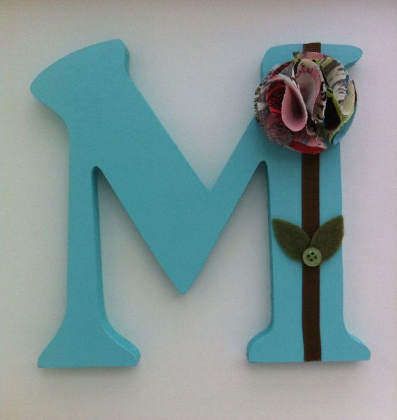 28 best images about wooden decorated letters on pinterest for Wooden letters for crafts