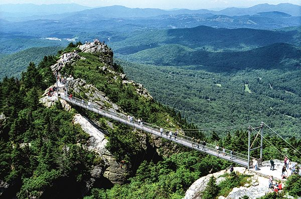 "A North Carolina Bucket List - ""From the mountains to the woodlands to the coast, family experiences unfold on a variety of landscapes,"" says Suzanne Brown, media relations specialist for VisitNC."