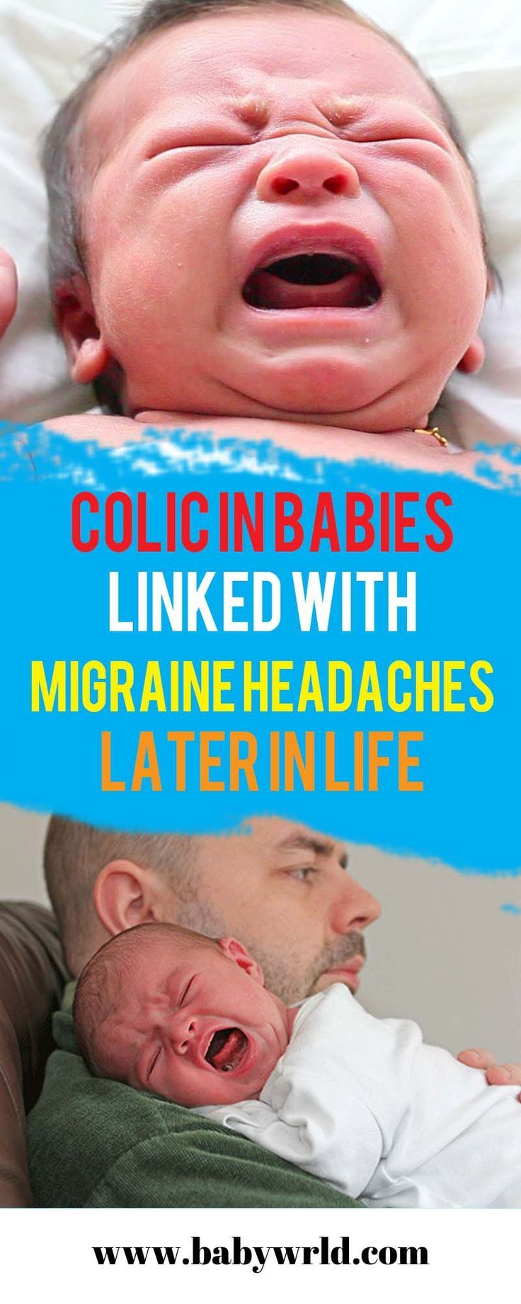 Colic in Babies Linked with Migraine Headaches Later in ...