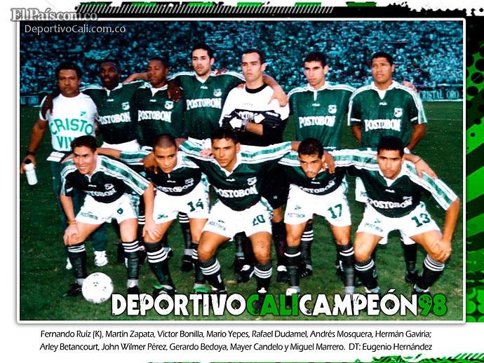 Deportivo Cali 100 Años - Campeon 1998