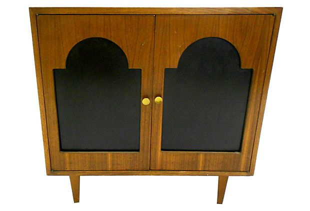 One Kings Lane - All About Him - Midcentury Media Cabinet