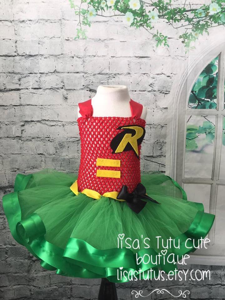 Tutu de Robin traje de Robin vestido de Robin vestido de