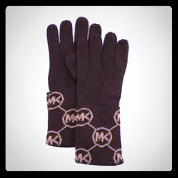 MICHAEL KORS Chocolate Brown/Camel signature GLOVE Absolutely gorgeous chocolate brown and camel colored small circle logo MK knit cuff gloves! This is part of the 2015 collection & 100% SOLD OUT! It absolutely gorgeous & matches most everything! makes a great gift..color.. Chocolate brown and Camel MICHAEL Michael Kors Accessories Gloves & Mittens