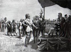 Caractacus, King of the Catuvellauni before Claudius