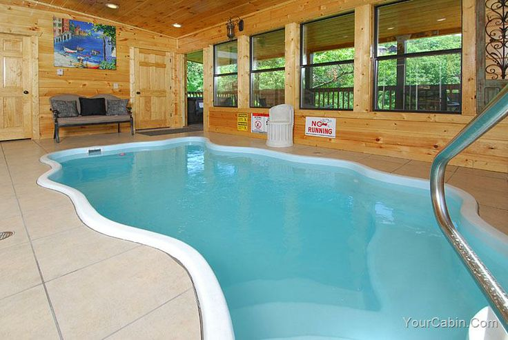 Waterlog inn cabin you will be able to make your own for Cabin indoor pool