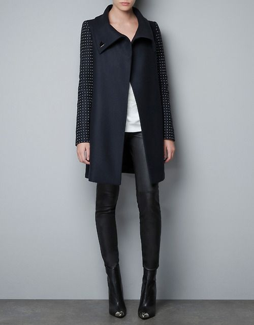 Zara Studded Sleeve Jacket.  Perfect for that fall-winter in NYC.