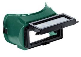 """Radnor Lift Front Welding Goggles With Green Soft Frame And Shade 5 Green 2"""" X 4"""" Lens"""