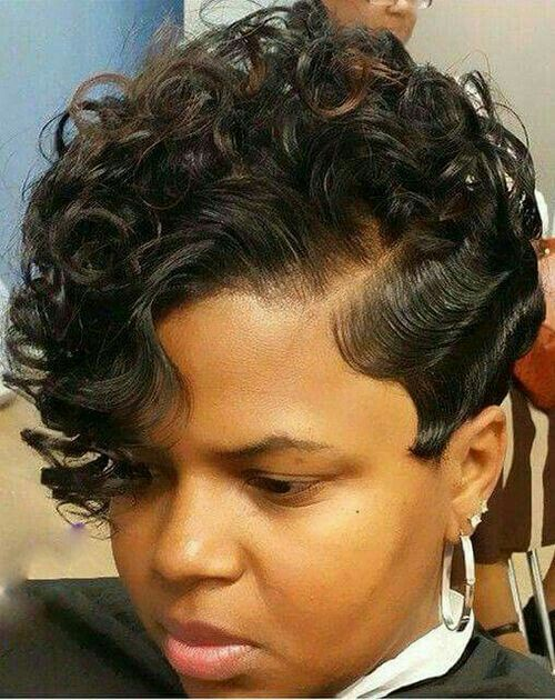 styles for short black permed hair 390 best styles fingerwaves amp soft curls images on 1071 | 8ac55858a30e032a96e3ae040fe252d1 permed hairstyles hairstyles haircuts