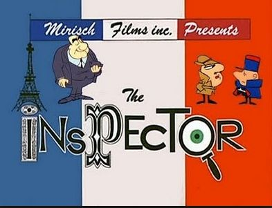 El inspector .,Serie de dibujos animados creado por la productora DePatie-Freleng Enterprises y distribuida por la United Artists, emitida inicialmente como cortos en 1965 después forma parte uno de los segmentos del Show de la Pantera rosa conjuntamente con La Pantera Rosa y La hormiga y el oso hormiguero. Fue creado por Friz Freleng a partir del personaje de Jacques Clouseau, un oficial de la policía francesa que aparece en las películas de La Pantera Rosa hechas por Blake Edwards.