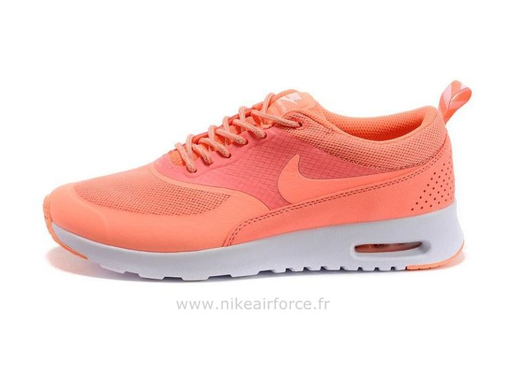 Air Max Orange Fluo Femme