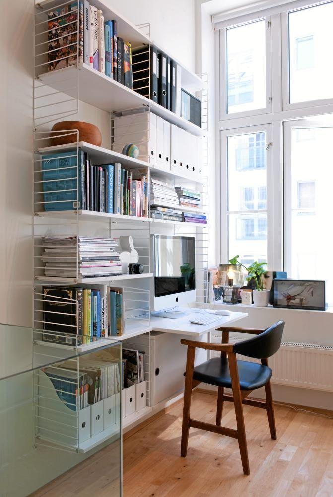 150 best stringhyllor images on pinterest string shelf string system and ad home. Black Bedroom Furniture Sets. Home Design Ideas