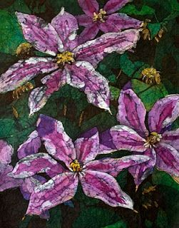 Krista Hasson's Fine Art Blog: Flowers on Rice Paper - Watercolor Paintings from my Current Show