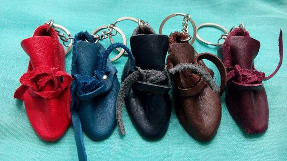 Leather key chain Leather key ring key holder by craftartculture