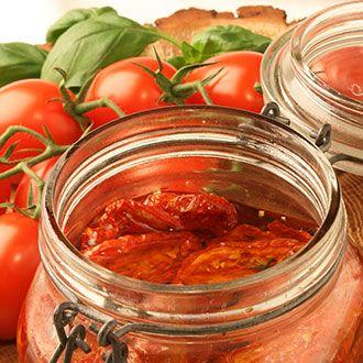 Sušená rajčata Aglio peperoncini