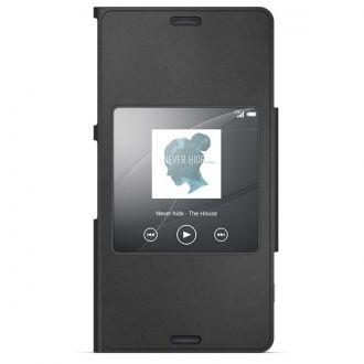 Stylowa osłona SCR26 to innowacyjny futerał ochronny do smartfonu Sony Xperia Z3 z funkcją podglądu ekranu. Po zamknięciu osłony wybrane widżety z paska stanu lub ekranu głównego smartfonu Sony Xperia Z3 Compact są widoczne oraz interaktywne.
