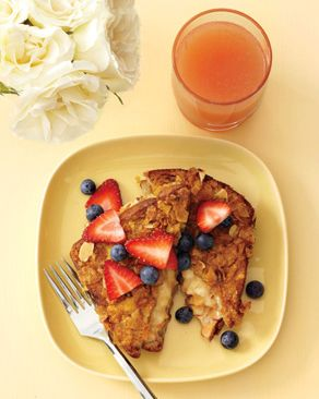 Cornflake Crusted Banana Stuffed French Toast: Sweet Bananas, Food Recipes, Breakfast, Cornflake Crusted, Crusted Banana, Stuffed French Toast, Healthy Food, Healthy Fruits