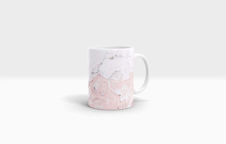 Marble Mug. 11oz Ceramic Mug. by NJsBoutiqueCo on Etsy