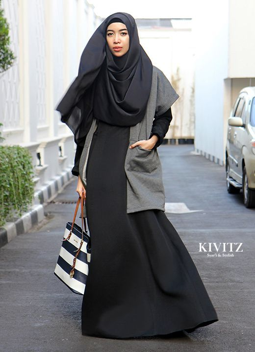 KIVITZ: How to Look Vest-cinating -Hijab fashion
