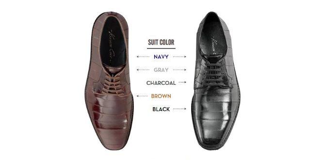 Vad bör jag ha för färg på skor till blå kostym? och om jag har grå kostym, kan jag ha samma färg på skorna? här är en komplett guide till skor och kostymer