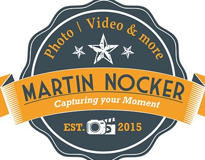 """Check out new work on my @Behance portfolio: """"Logo for photographer"""" http://on.be.net/1R0A9RQ"""