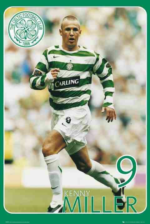 Kenny Miller of Celtic in 2006.