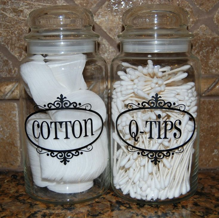 Vinyl Jar Labels - 5 Colors to Choose From! at VeryJane.com