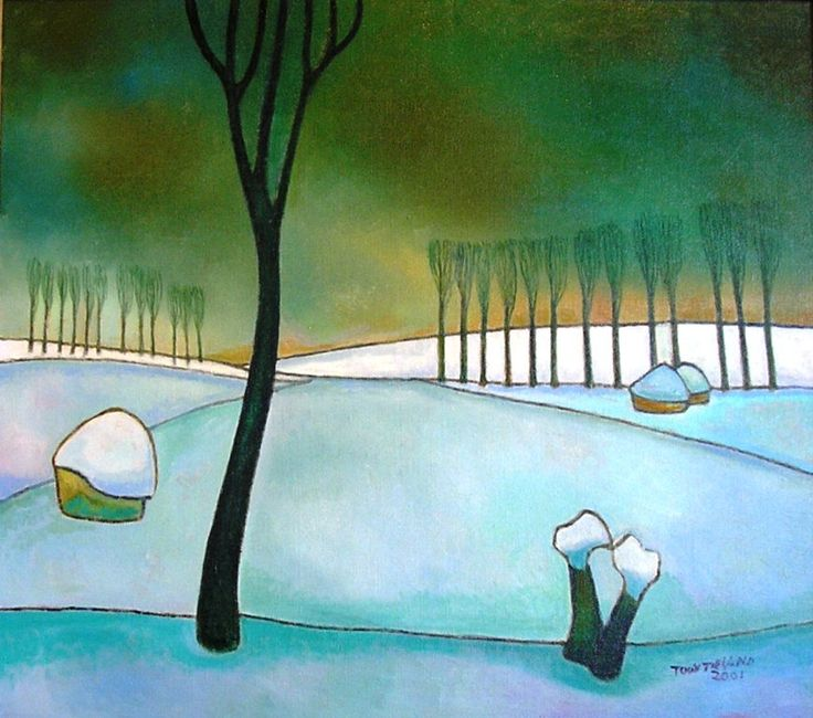 Winter, Toon Tieland