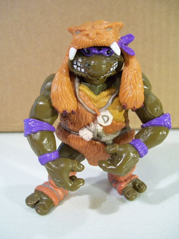 Caveman Donatello Teenage Mutant Ninja Turtles Vintage