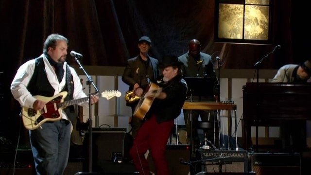 """The Mavericks are back after 8 years!   """"Come Unto Me"""" at the 2012 Americana Music Festival."""