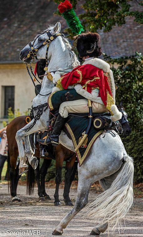 Chasseur a cheval de la garde                              …