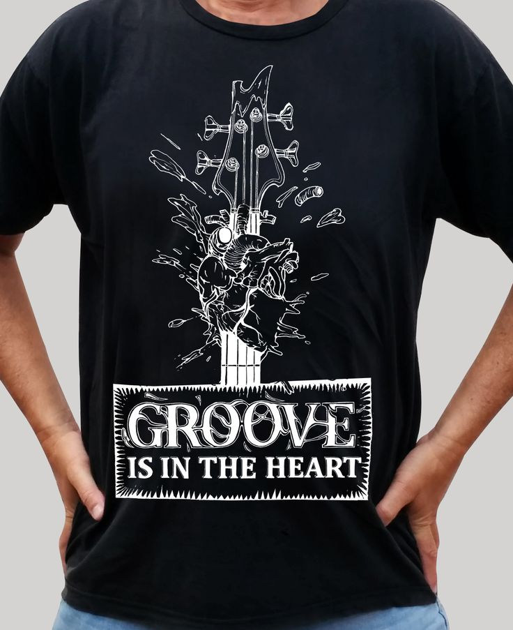 Groove is in the Heart - Black Shirt