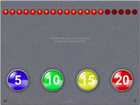 Timstock - Verktyg för visuell tidsnedräkning