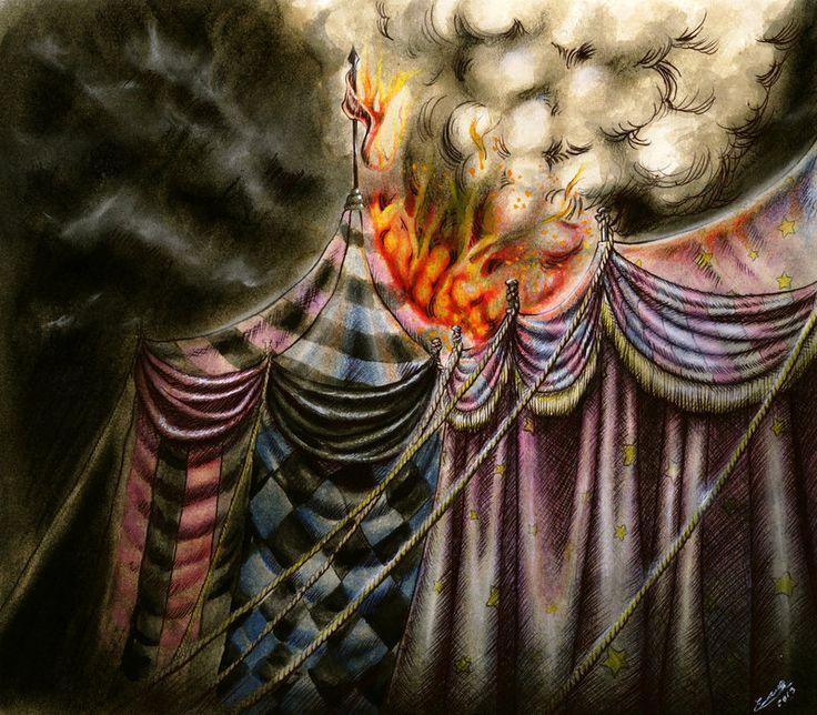 Fire in the Night by EnysGuerrero.deviantart.com on @deviantART