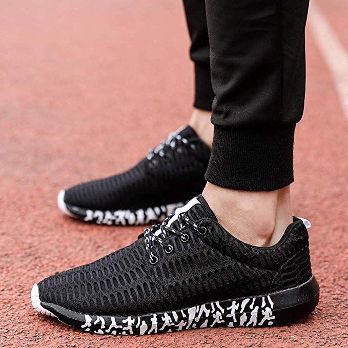 d6c801d62f59c Amazon.com: Men's Breathable Lightweight Fashion Sneakers Athletic ...