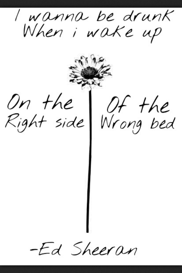 I've fallen hopelessly in love with all of Ed Sheeran's music ...