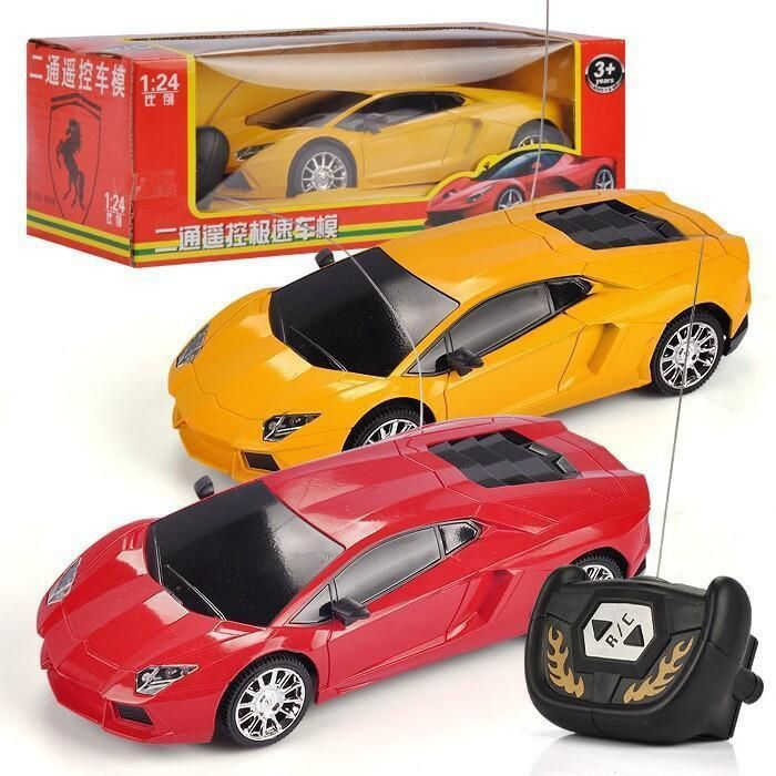 Remote Control Car 1:24 Lamborgini RC Toy Racing Car Model Kids Baby Toys Машина Дистанционного Управления