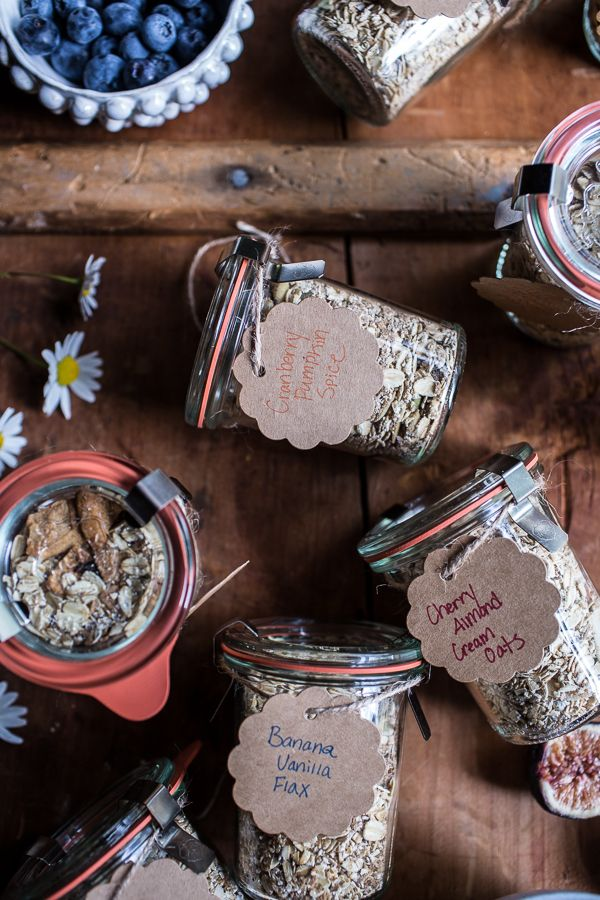 Homemade Instant Oatmeal 5 Ways…For Back to School | halfbakedharvest.com @hbharvest