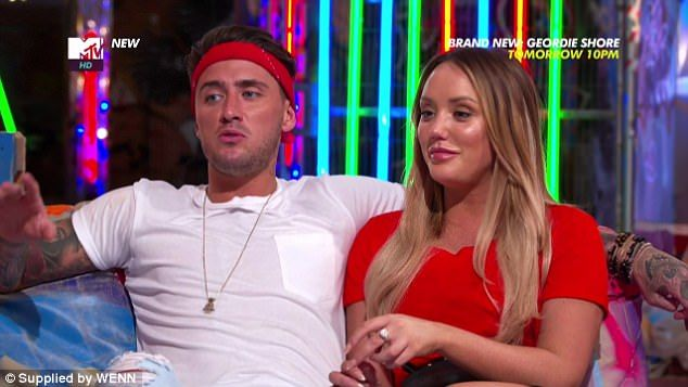 Moving on: Stephen Bear has now cut ties with Just Tattoo Of Us, as he has reportedly quit his presenting role on the show amid his bitter split with Charlotte, 27