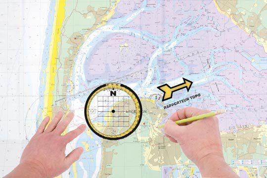 Savoir utiliser une règle de navigation reste un gage de sécurité. Même aujourd'hui, à l'heure du 'tout GPS', il est toujours bon de comprendre et de savoir 'lire' un cap. Petit rappel (ou découverte) sur l'utilisation de la règle rapporteur.