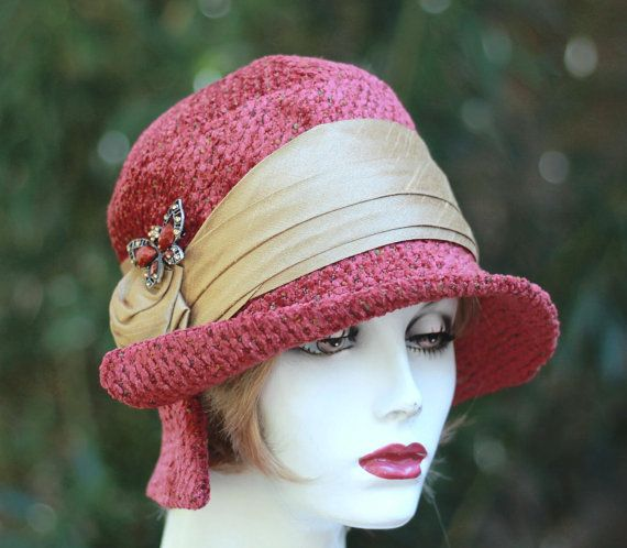 Hey, I found this really awesome Etsy listing at https://www.etsy.com/listing/108203441/womens-hat-1920s-cloche-vintage-style