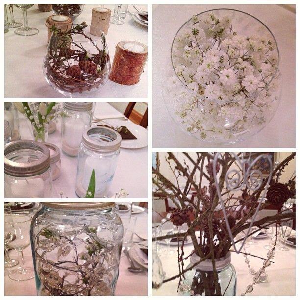 Norgesglassene kan brukes til lys, dekor eller blomster. Hva med en kombinasjon??? @jannepaalandet
