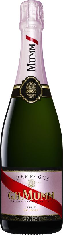 Vaaleanpunainen samppanja - G.H. MUMM Rosé