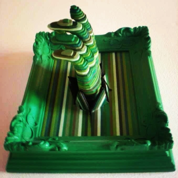 To discover the green color...work by Daniele Fortuna